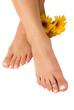 Pedicured Feet