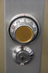 Metal safe puzzle and key locks