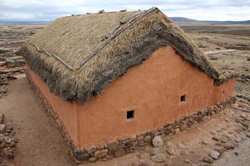 Numancia casa reconstruida