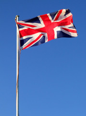 UK Flag Flying
