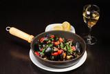 Mussel stew (ragout) poster