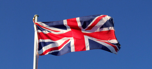 British Flag Flying