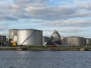 Archipielago de Lulea (Suecia) Contenedor de combustible