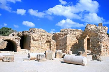 Ancient ruins in Cartage