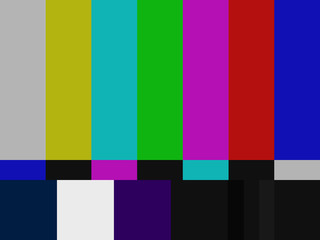 television monitor color calibration ILLUSTRATION