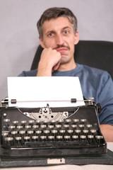 typewriter and pressman