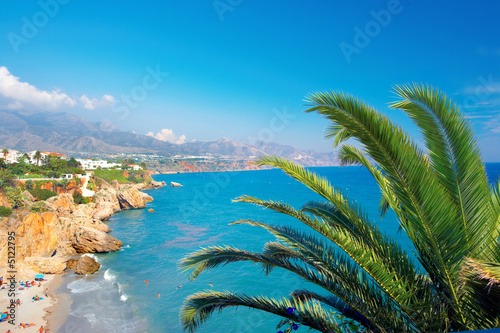 canvas print picture Sunshine Beach - Spain
