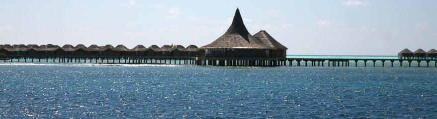 Luxe dans les maldives