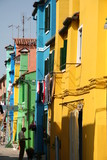 Harmonie de couleurs à Burano poster