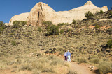 Capital Reef hikers 3 poster