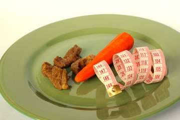 Strict slimming diet