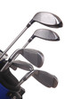 Golf Clubs isolated over White