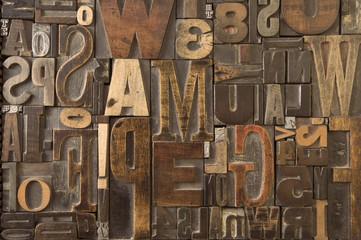 Woodtype 7