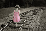 Fototapete Sommer - Gehend - Kind