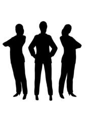 three businesswoman
