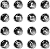 black drop software icons poster