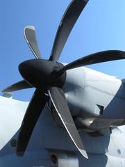 Transport plane prop