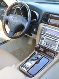 Luxury car convertible interior 3 poster