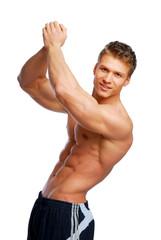 Training human body.