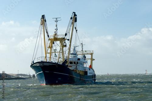 Leinwandbild Motiv fishing ship