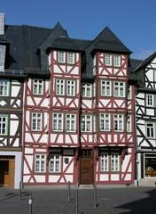 Wetzlar Schillerplatz Fachwerkhäuser