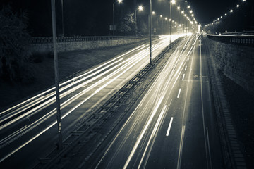 Night highway