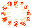 chinese horoscope white