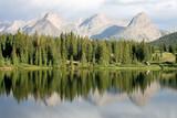 Camping at Molas Lake, Colorado poster