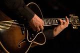 guitariste jazz poster