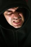 Hooded anger poster
