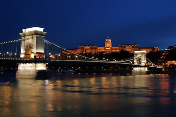 Night light in Budapest. 5.