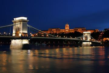 Night light in Budapest. 5.