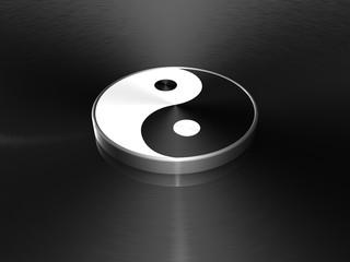 Yin Yang Spiegelung