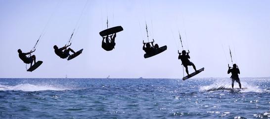 Kiteriding jump