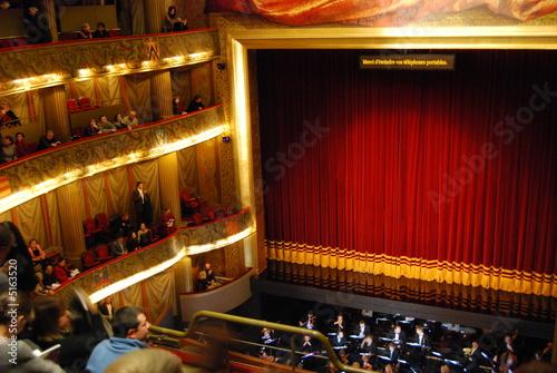 Fotobehang Theater opéra