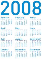 calendar 2008 (d1b)