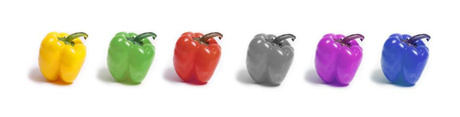 verschiedene Typen Paprika, Rassismus