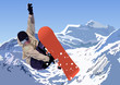 roleta: Snowboarder