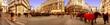 Oesterreich, Wien, Am Graben Panoramaaufnahme