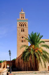Morocco, Marrakech: the Koutoubia
