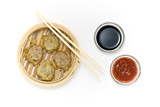 Chinese dumpling poster