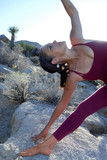 Yoga Triangle poster