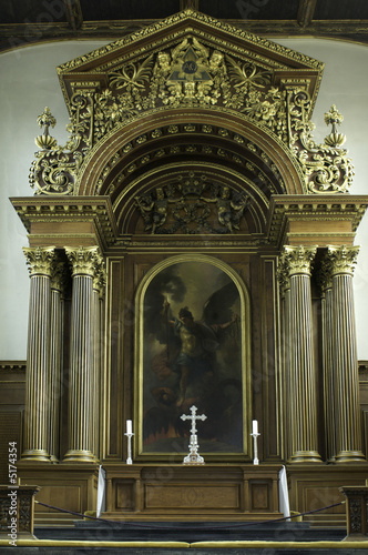University of Cambridge, Trinity college chapel altar and canopy