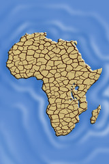 Africa the desertic island