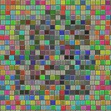 Glossy artistic tiles poster
