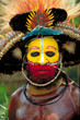 Tribal face (visage tribal) Papua New Guinea