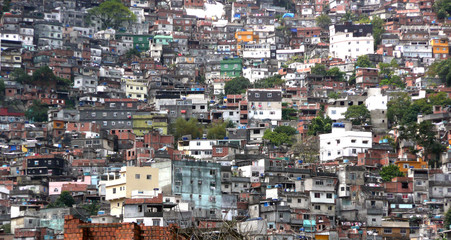 Rocinha : La plus grande favela d'Amérique du Sud (Brésil)