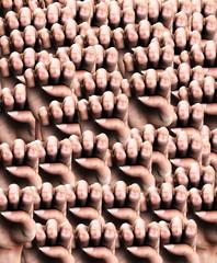 Fist Background 1