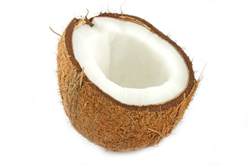 half of coconut