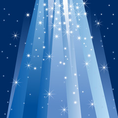 Magic Light (vector or XXL jpeg image)